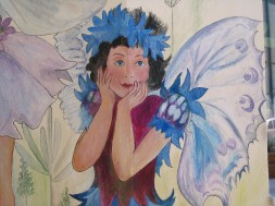 Detail, of fairy