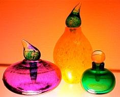 Glass Perfume Bottles - Swedish